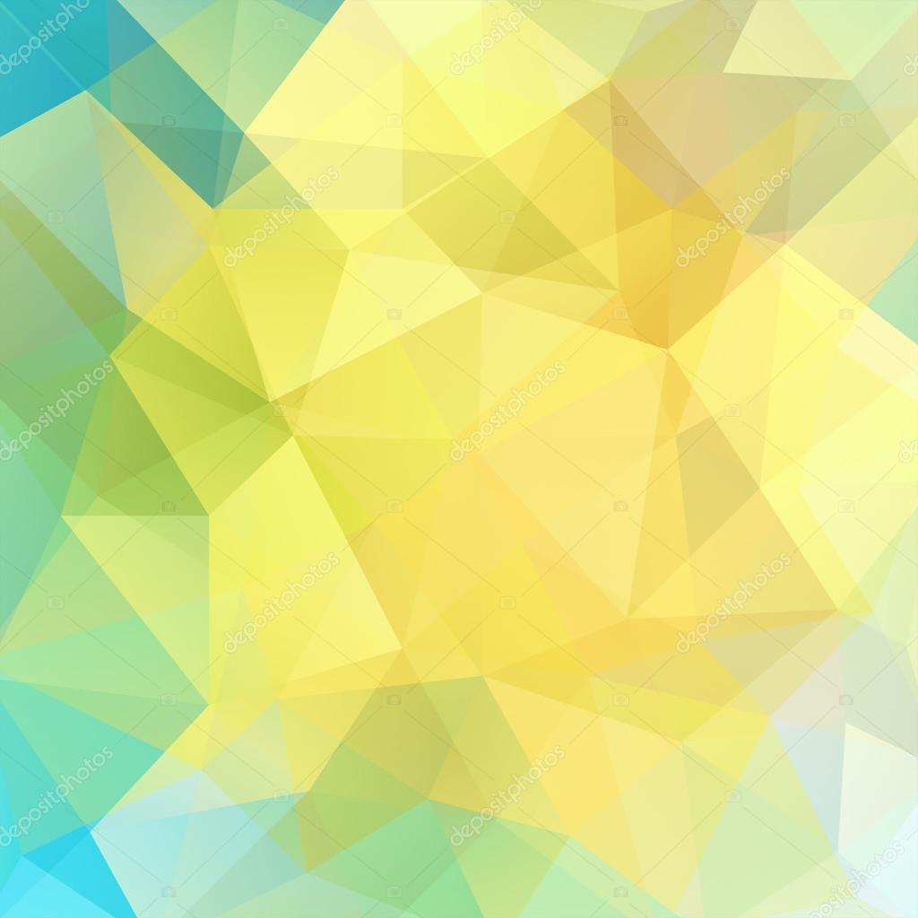 Background Of Geometric Shapes Colorful Mosaic Pattern