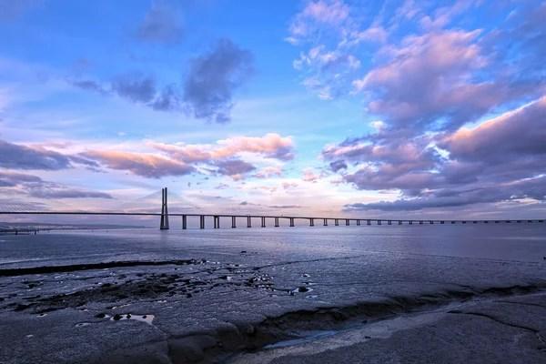Сутінки на спокійний Балтійського моря — Стокове фото ...