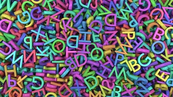Буквы английского алфавита. — Стоковое фото © Tatiana53 ...