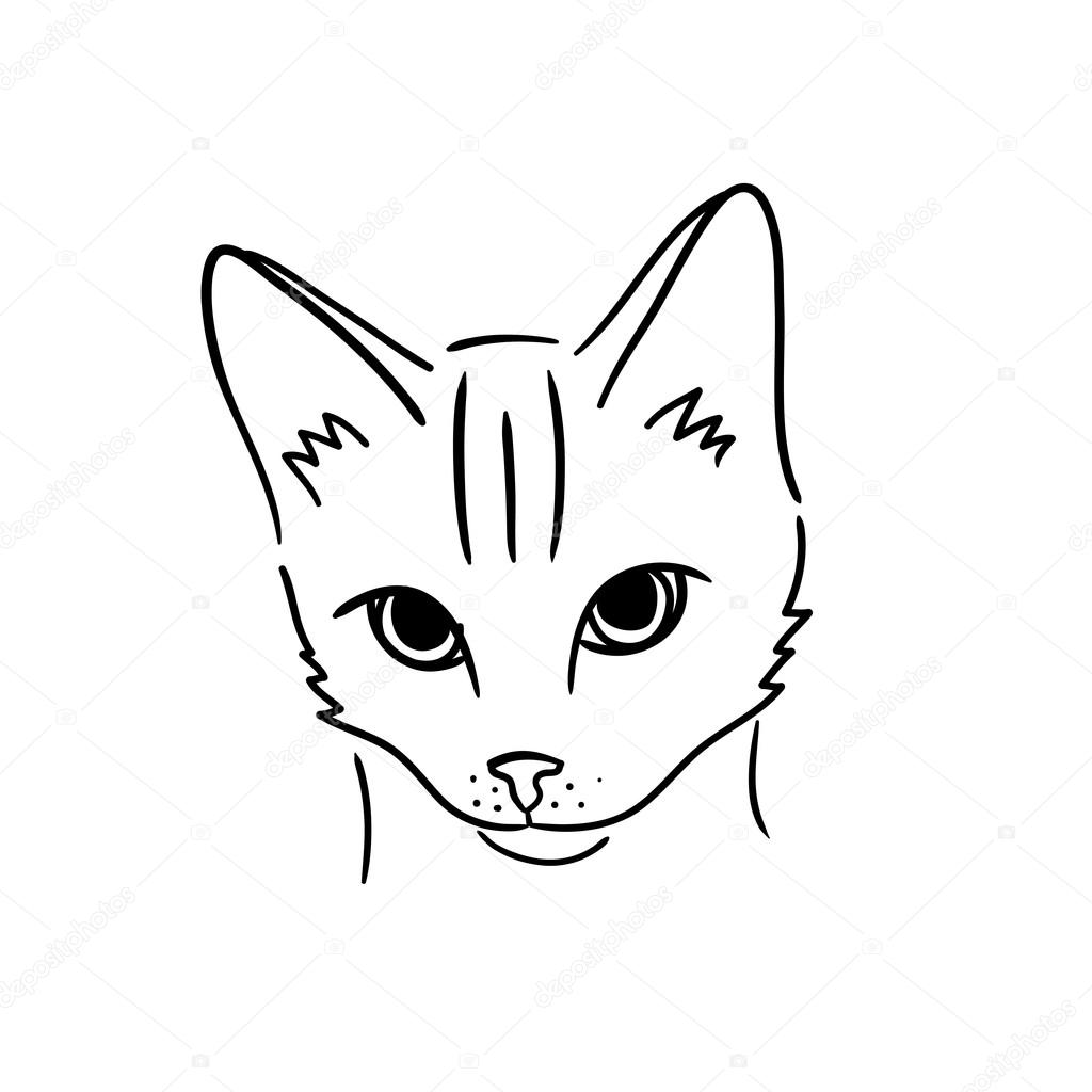 Easy To Draw Cartoon Cats