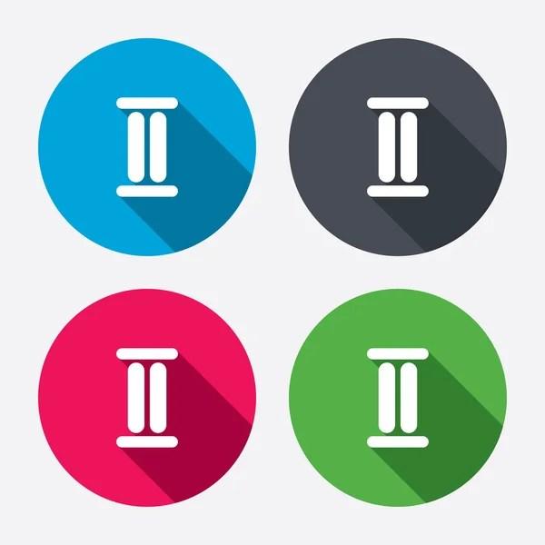 Римская цифра три иконки — Векторное изображение ...