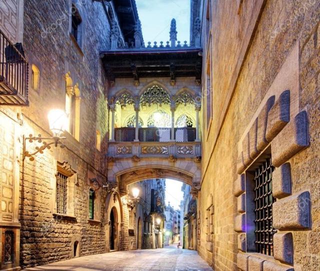 Gothic Quarter Barcelona Spain Photo By Ttstudio