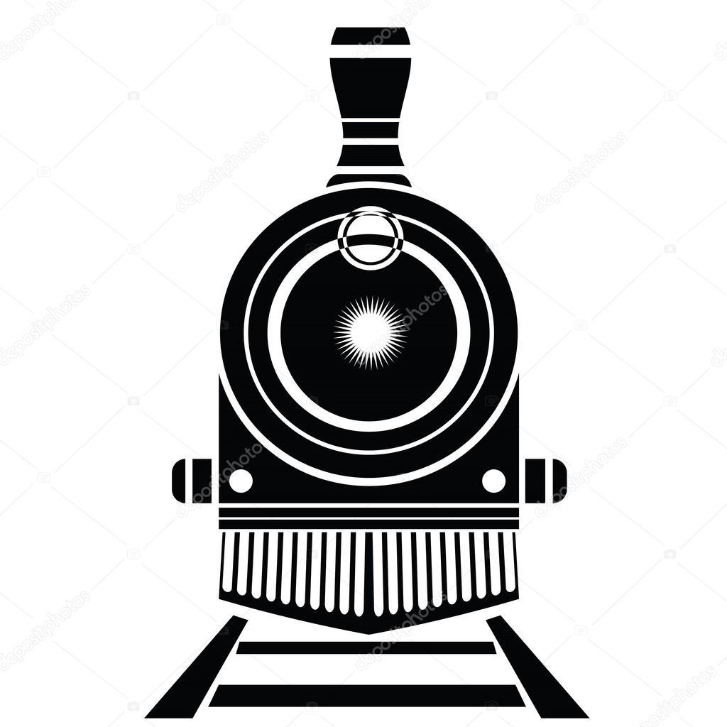 Icono De Tren Antiguo