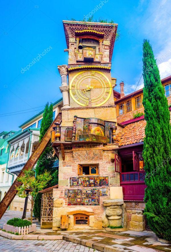Башня из сказки — Стоковое фото © efesenko #117336072