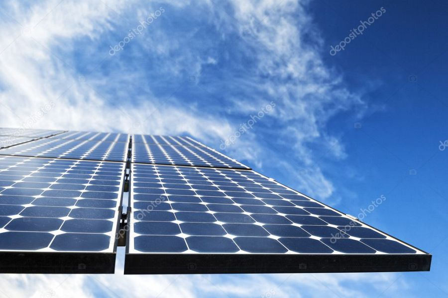 Solar Photovoltaic Cells     Stock Photo      Banoart  120778882 Monocrystalline photovoltaic solar cell panels producing electricity      Photo by Banoart