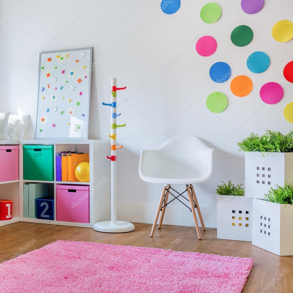 chambre d enfant design colore images de stock libres de droits