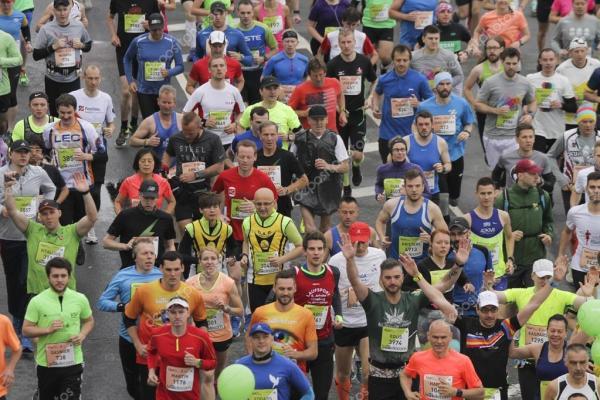 Lattelecom Рига марафон 2016 – Стокове редакційне фото ...