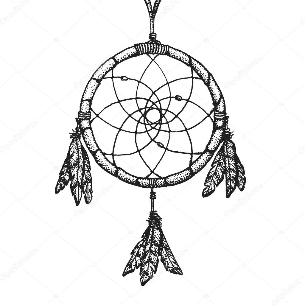 Beautiful Dream Catcher Page Coloring Pages