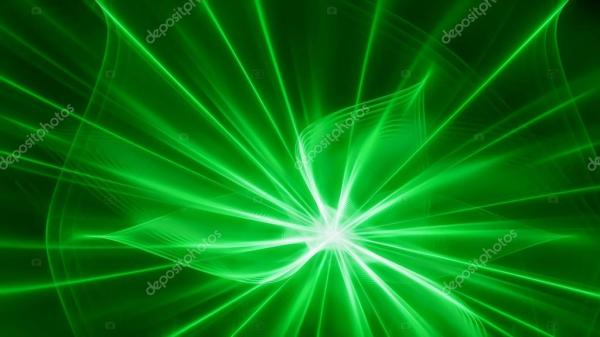 Fond vert foncé avec flash lumineux — Photo #78167128