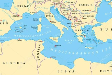 mediterranean sea on europe map » 4K Pictures   4K Pictures [Full HQ ...