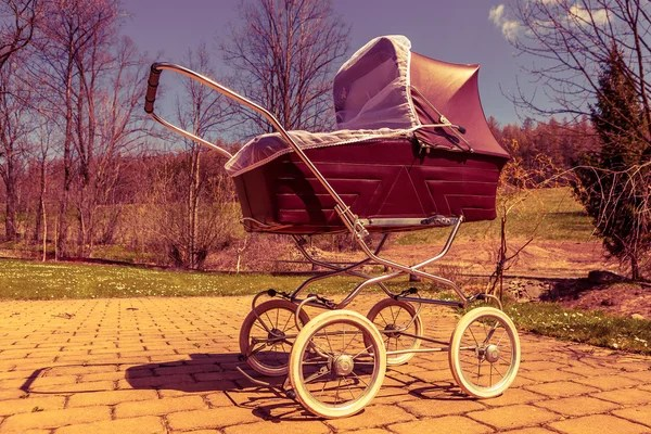 royalty free vintage baby carriage