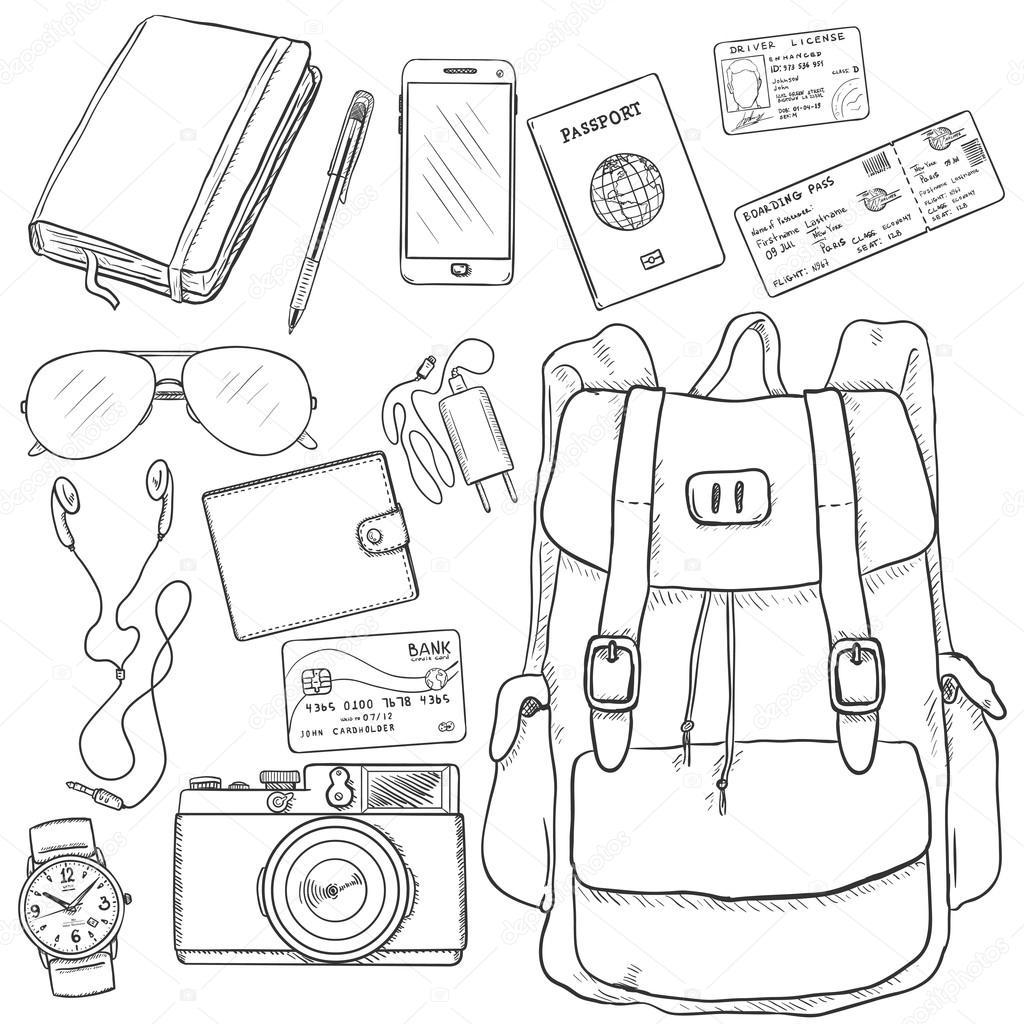 Travel Sketch Set