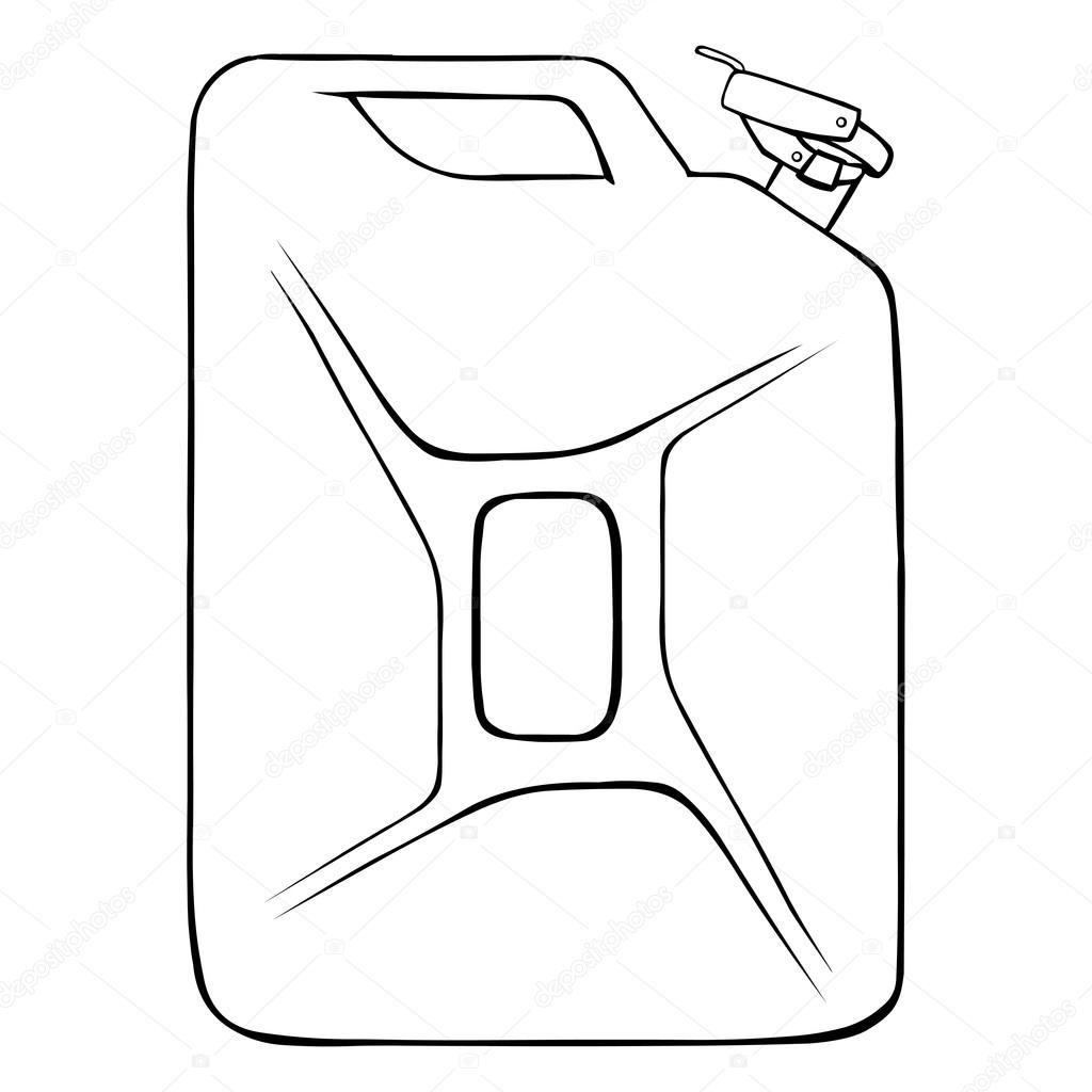 Single Jerry Can