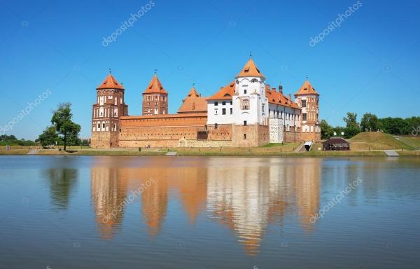 Мир беларусь замок. Замок в городе мир Беларусь ...
