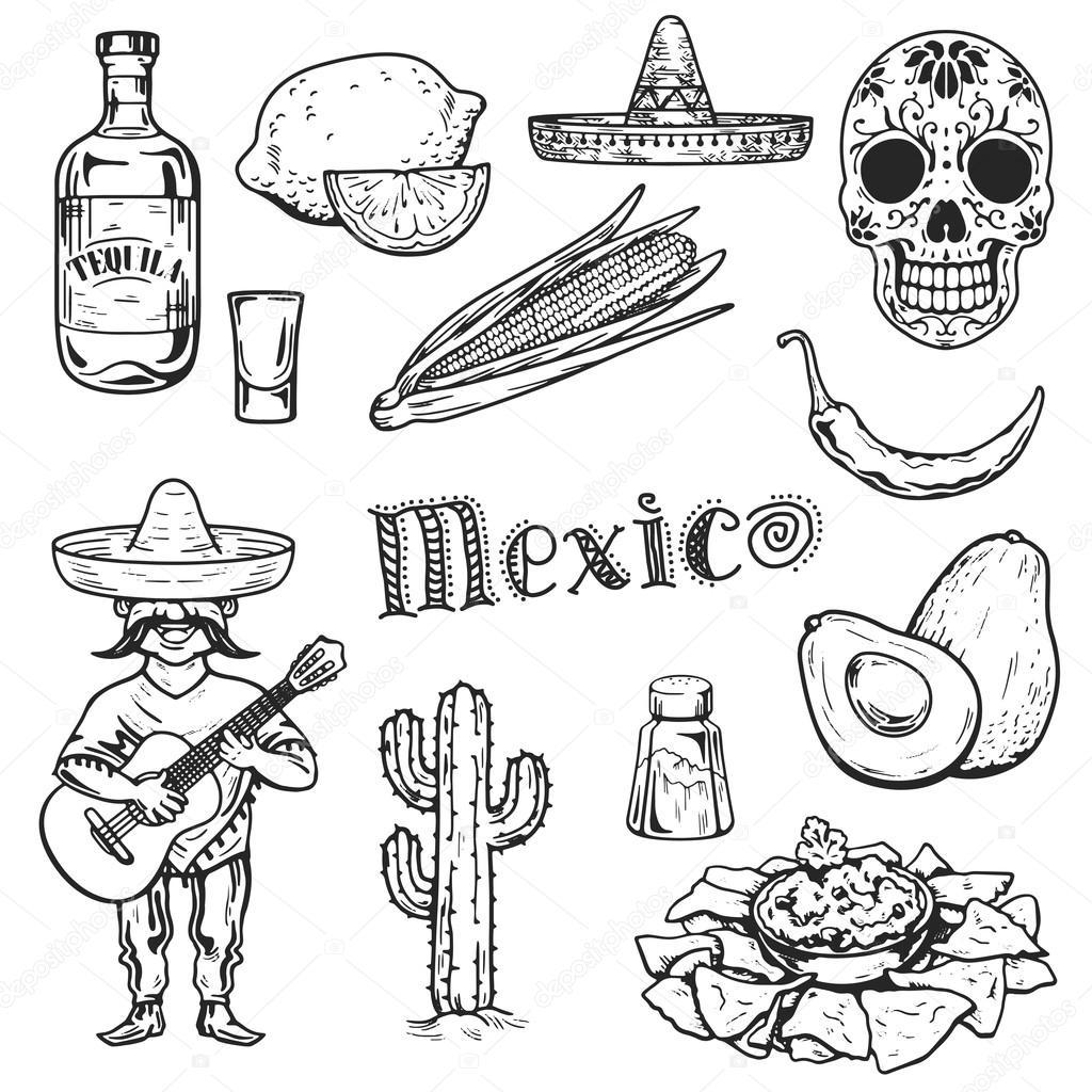 Reisen Sie Nach Mexiko Essen Kultur Trinken Kuche Hand