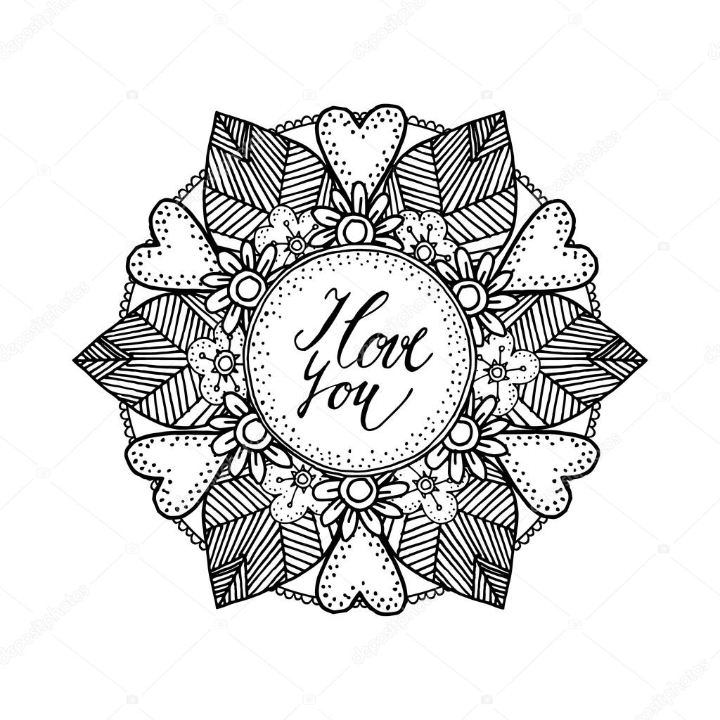 Dekorative Valentinstag Oder Hochzeit Karte Mit