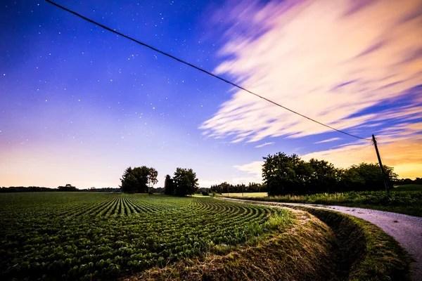 Ніч на полях — Стокове фото © mitch.zul #81445236