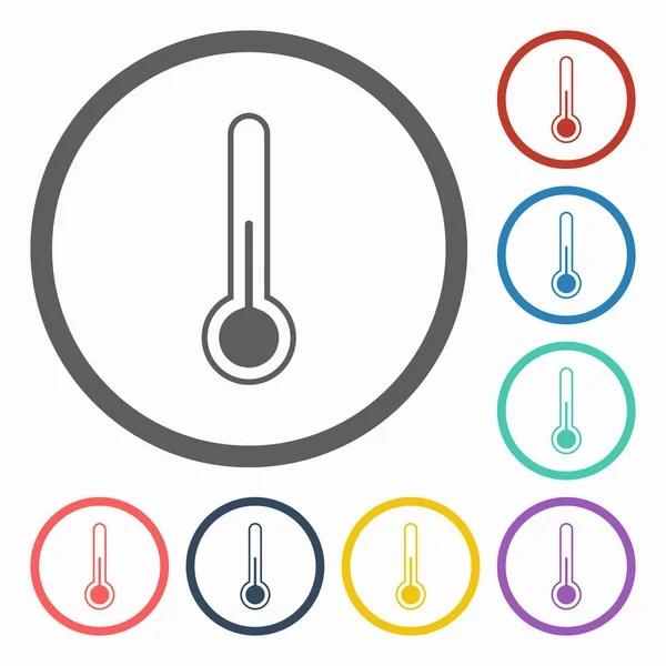 溫度計圖標 — 圖庫矢量圖像© T-Kot #58338163