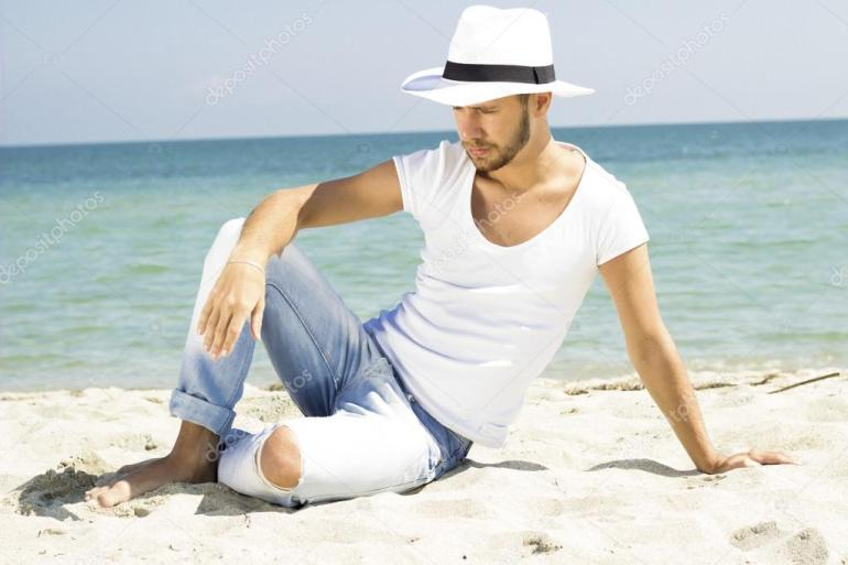 Image result for summer hat men wearing