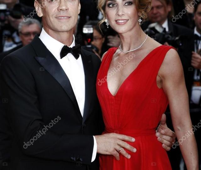 Cannes France May 12 Rocco Siffredi And His Wife Rozsa Tassi Attend The Money Monster Premiere During The 69th Cannes Film Festival On May 12