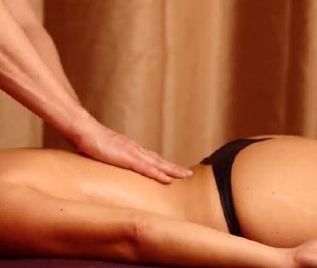 Man Making Sensual Massage For Woman Time Lapse Stock Video