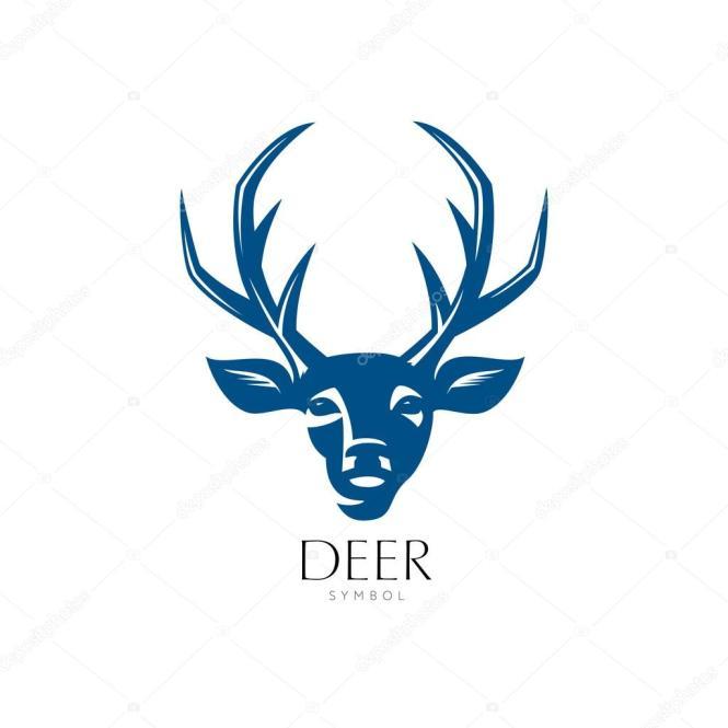 Deer Head Symbol The Best Deer 2018