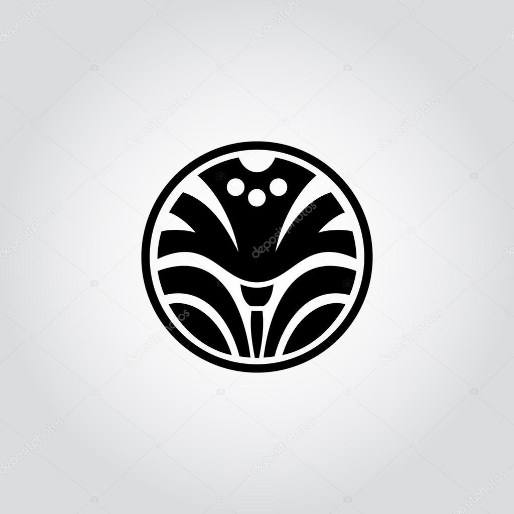 Daffodil Narcissus Flower Symbol Logo