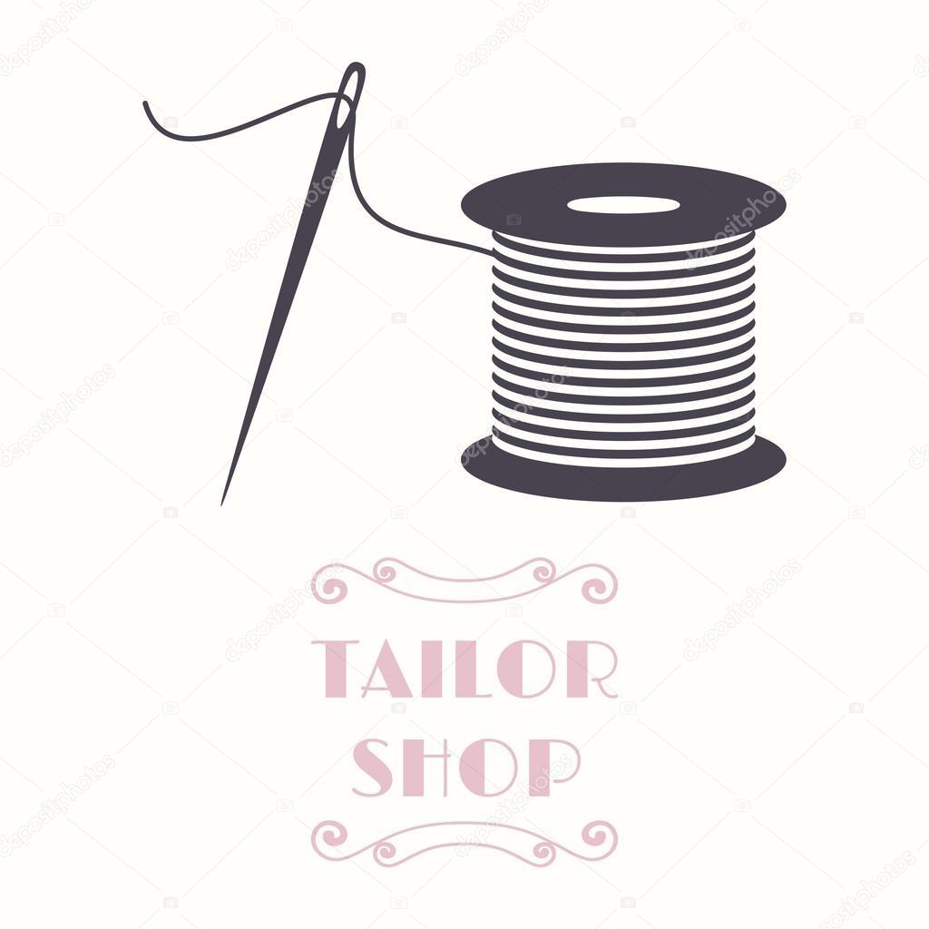 Thread Spool Vector Art