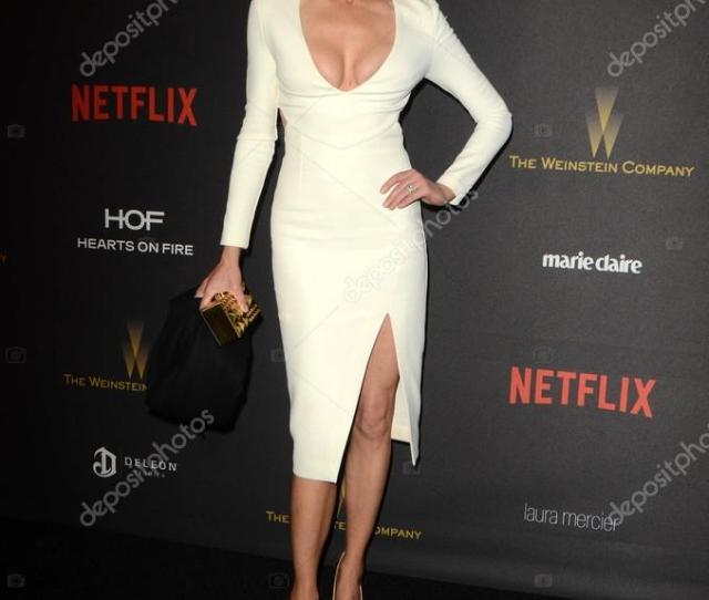 Beverly Hills Jan 10 Tricia Helfer At The Weinstein Company Netflix 2016 Golden Globe After Party Beverly Hilton Beverly Hills Ca  Foto De