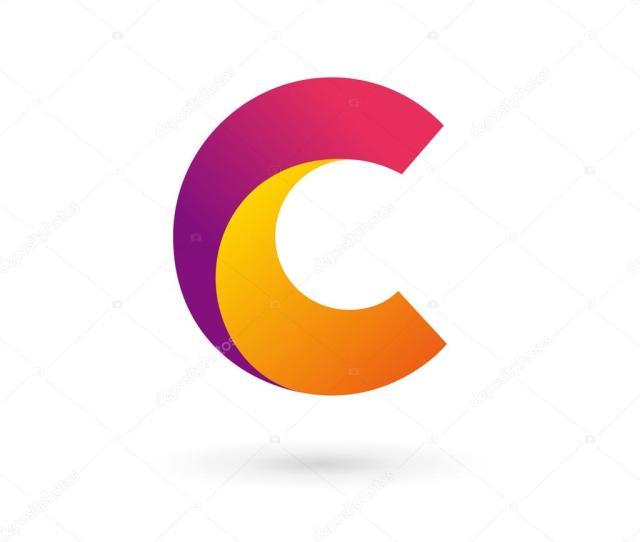 Letter C Logo Icon Design Template Elements Stock Vector