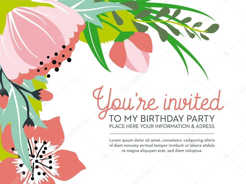 https depositphotos com 65291681 stock illustration birthday invitation card on floral html