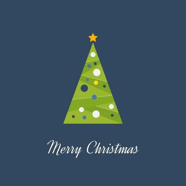 Вектор рождественской елки — Векторное изображение ...