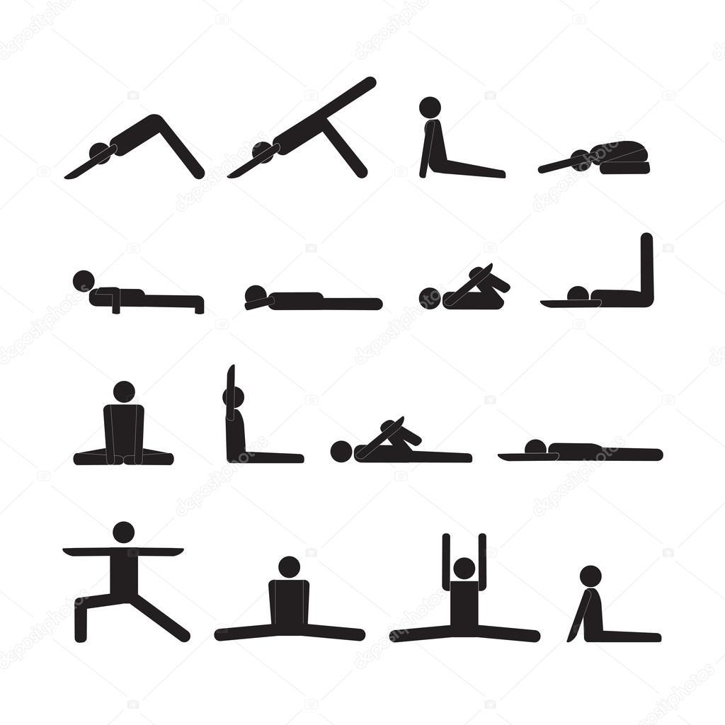 Yoga Stick Man