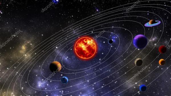 Солнечная система — Стоковое фото © sbhaumik #78521508