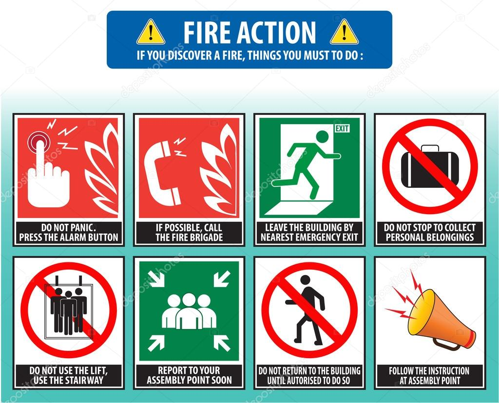 Fire Action Emergency Procedure