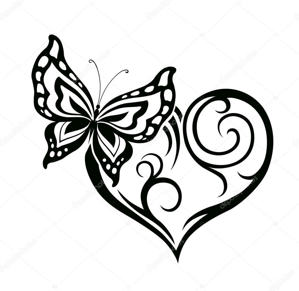 Butterfly Wings Template