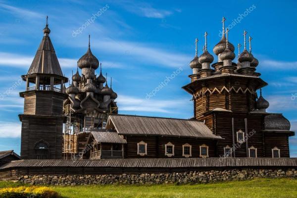 Деревянная архитектура Северные страны. Русские деревянные ...
