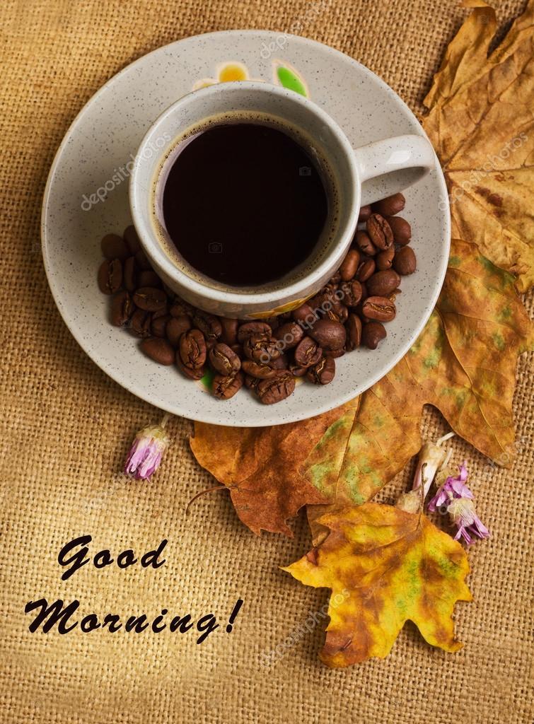 Risultati immagini per un buon caffè d'autunno