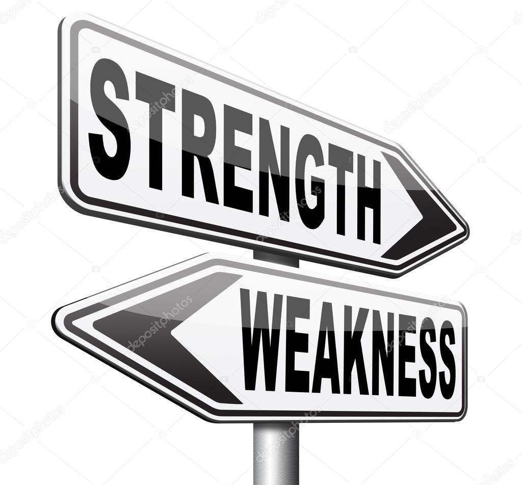 Strength Weakness Choose