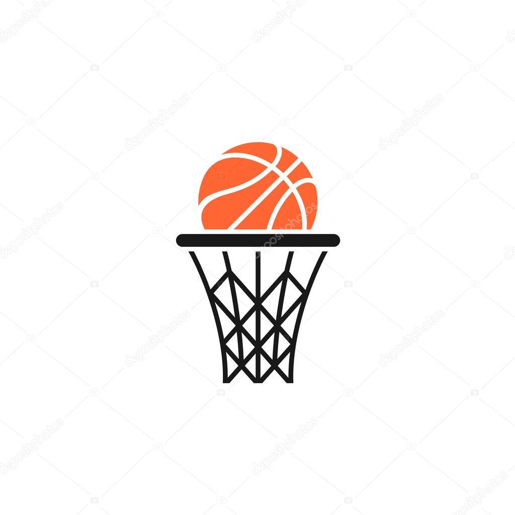 Basket And Ball Logo