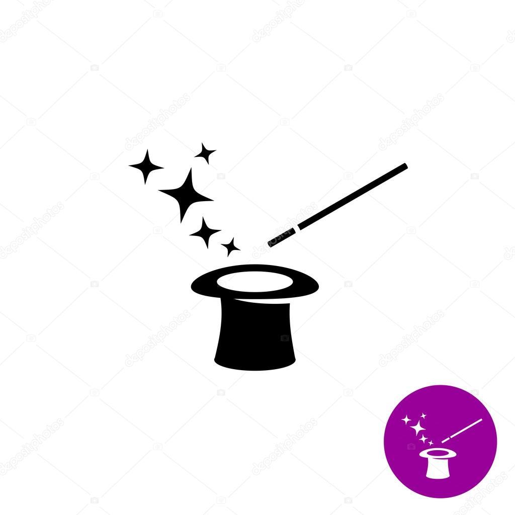 Magier Hut Und Sternen