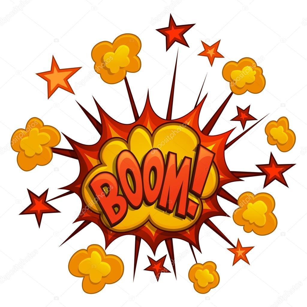 Kreslen Boom A Comic Book Exploze