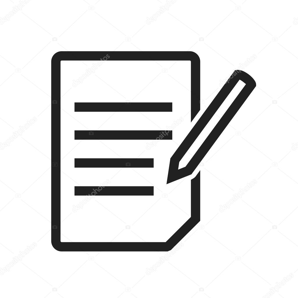 Assignment Education Icon