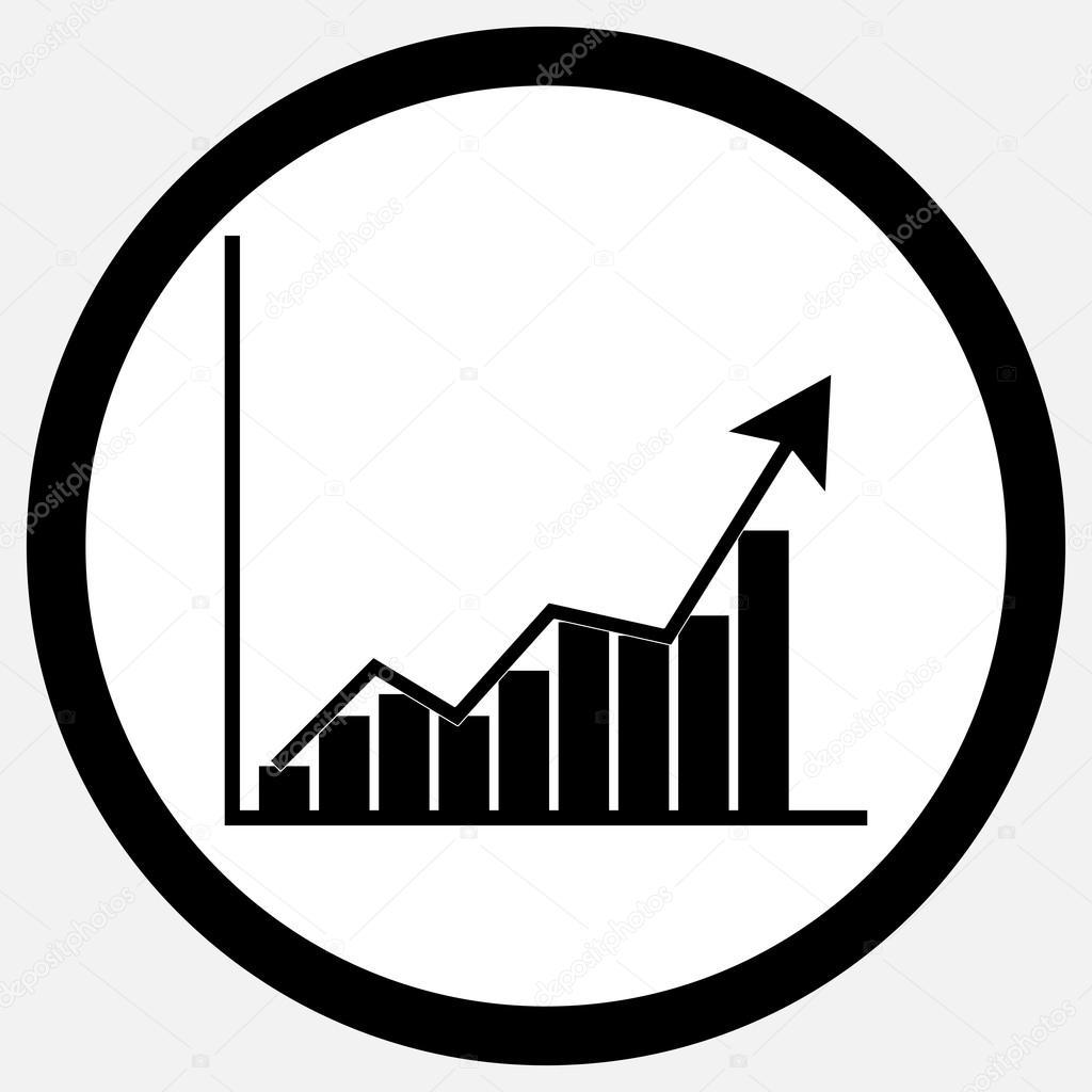 Wachstum Diagramm Ii Schwarz Wei