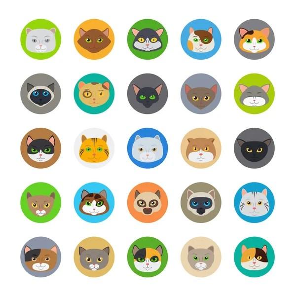 Набор икон животных и предметов — Векторное изображение ...
