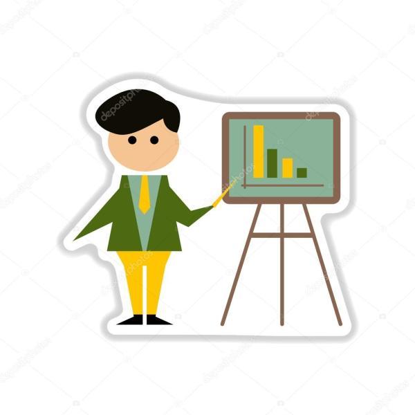 Картинки для презентации экономика. Бумажный стикер на ...