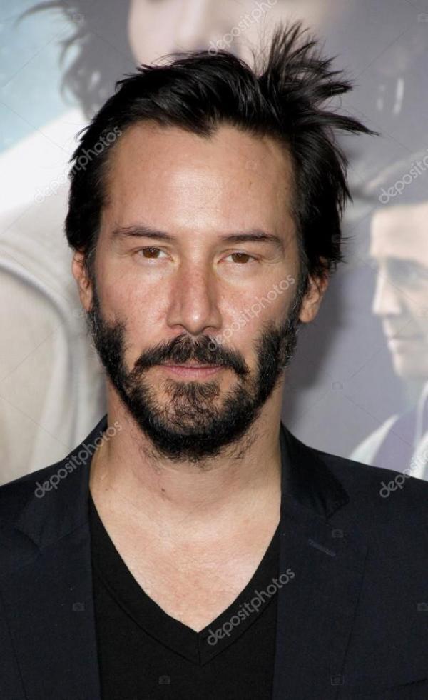 Ator Keanu Reeves — Fotografia de Stock Editorial ...