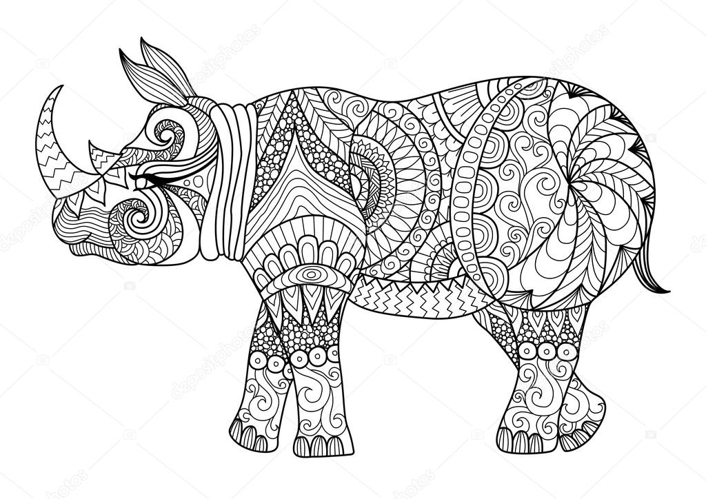 Coloring Page Zen Stock Vectors Royalty Free Coloring Page Zen Illustrations Depositphotos