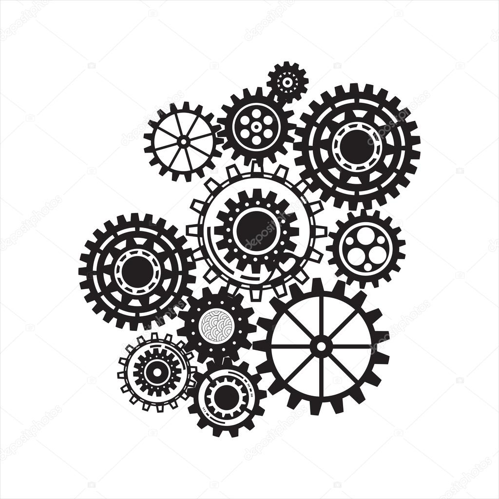 Business Mechanism Concept Abstract Background With