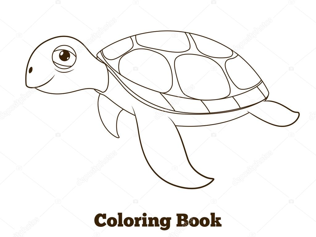 Sea Turtle Coloring Pages Sketch Coloring Page